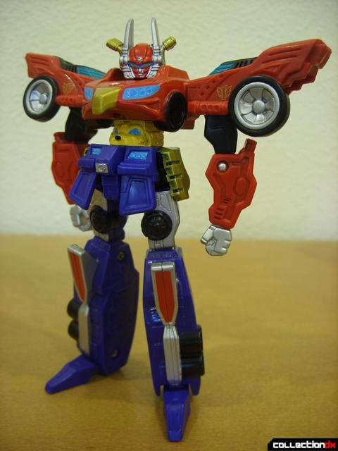 Retrofire High Octane Megazord posed (1)
