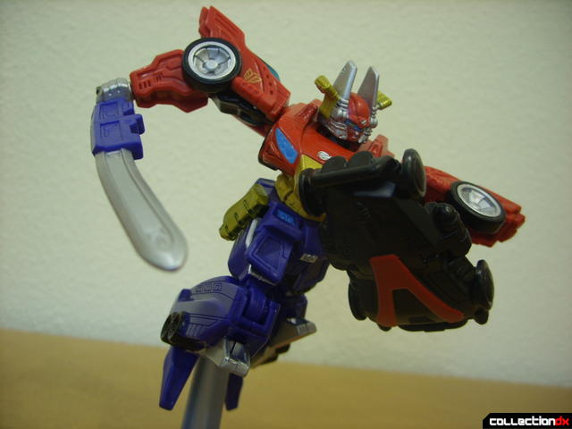 Retrofire High Octane Megazord posed (6)