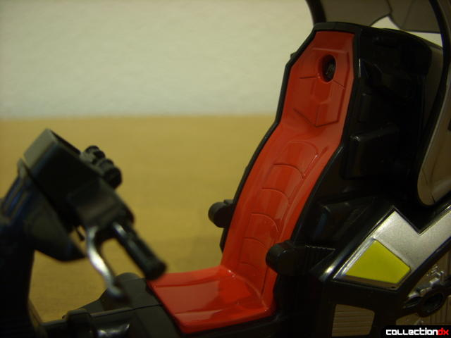 Kamen Rider Blank Knight with Advent Cycle (driver's seat)
