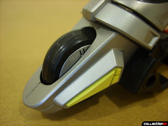 Kamen Rider Blank Knight with Advent Cycle (front wheel detail)