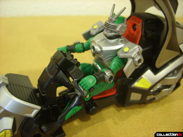 Kamen Rider Blank Knight with Advent Cycle (Kamen Rider Torque seated)