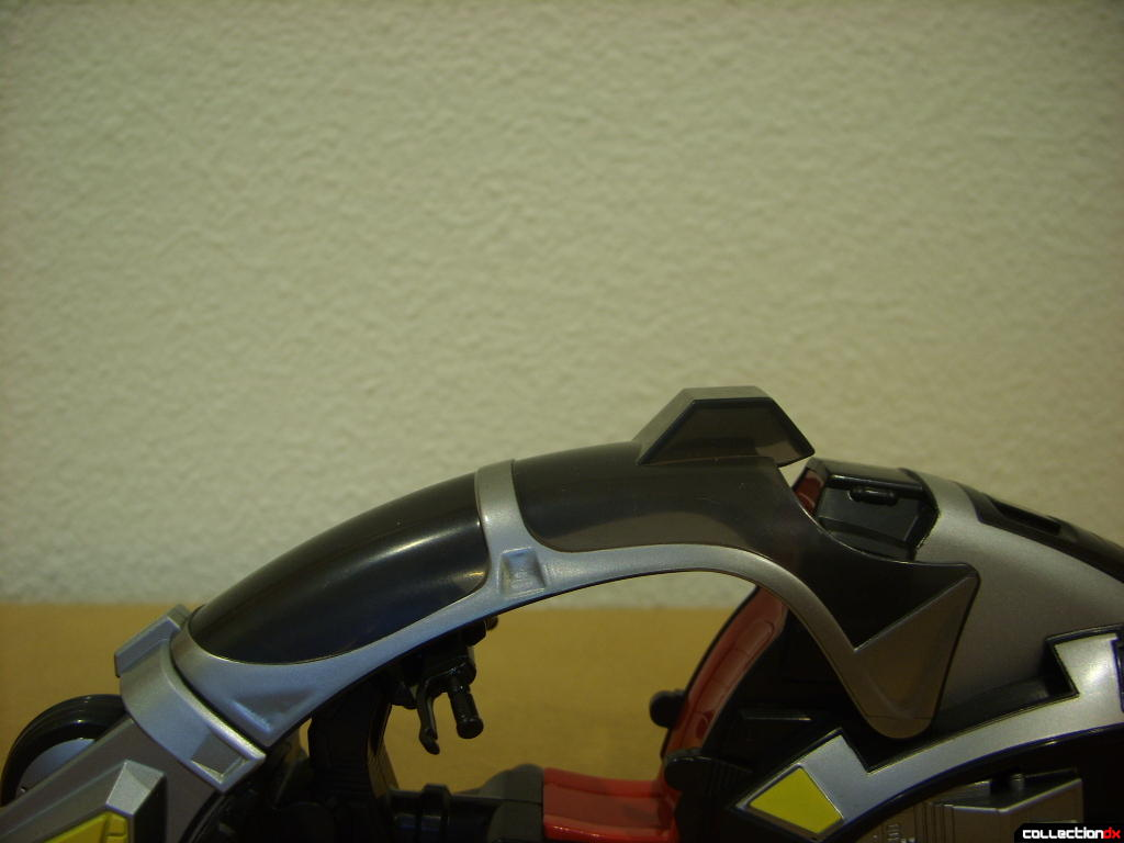 Kamen Rider Blank Knight with Advent Cycle (windscreen lowered)