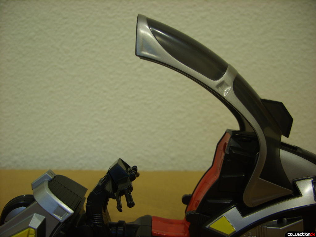 Kamen Rider Blank Knight with Advent Cycle (windscreen raised)