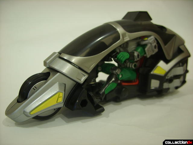 Kamen Rider Blank Knight with Advent Cycle (with Kamen Rider Torque)
