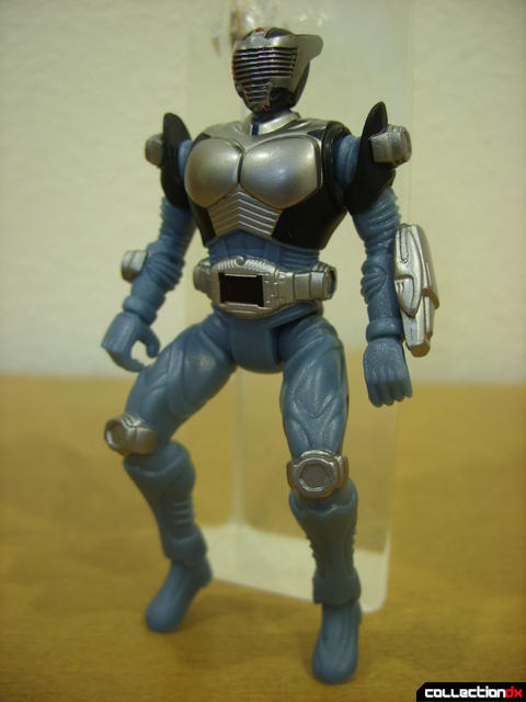 Kamen Rider Blank Knight with Advent Cycle- figure detail (front)