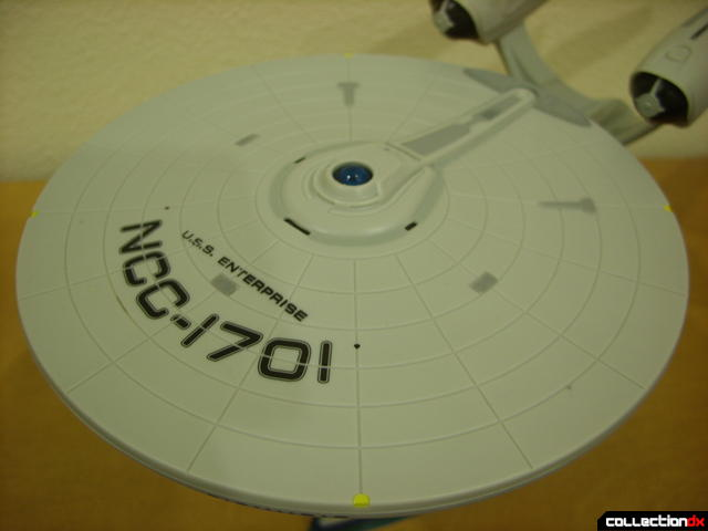 U.S.S. Enterprise (saucer section, top view)