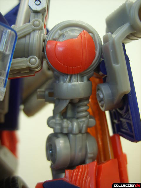 Leader-class Autobot Optimus Prime- robot mode (left upper arm detail)