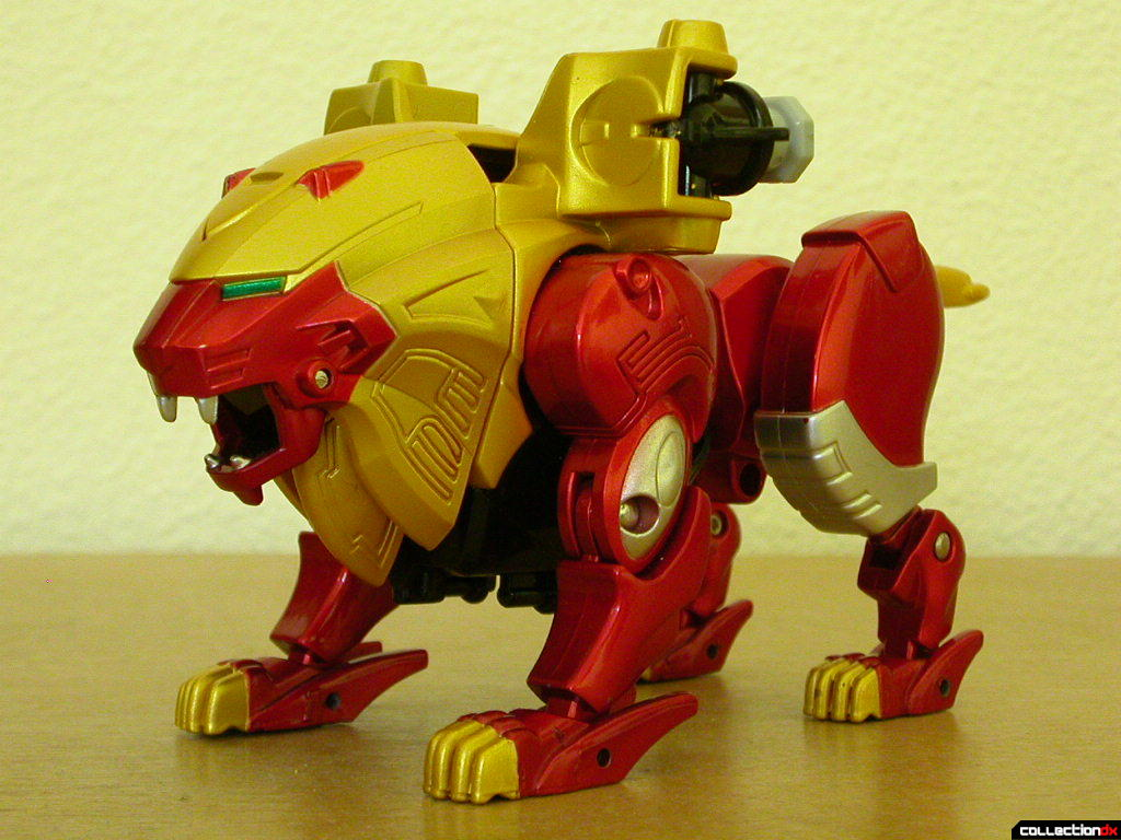 Power Animal Gao Lion (front)
