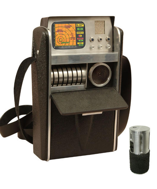 TOS Science Tricorder with Scanner Unit