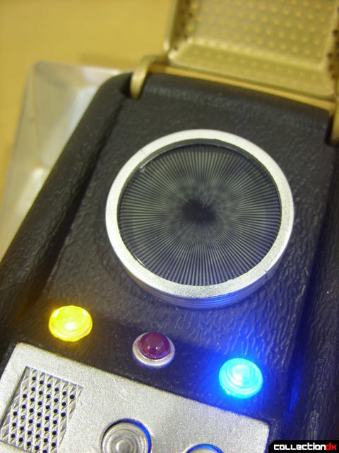 TOS Communicator (lights active)
