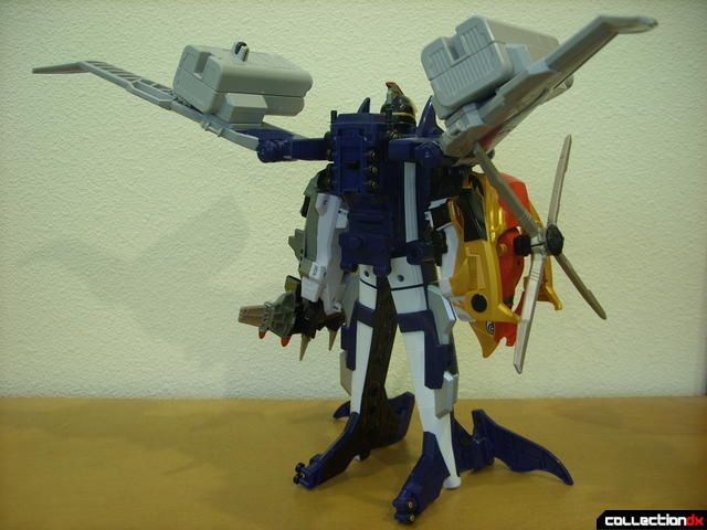 Engine Gattai Seiku-Oh (back, full-body)