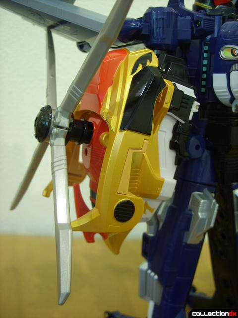 Engine Gattai Seiku-Oh (right arm detail)