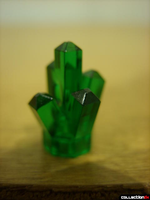 Mine Mech (green power crystal detail)