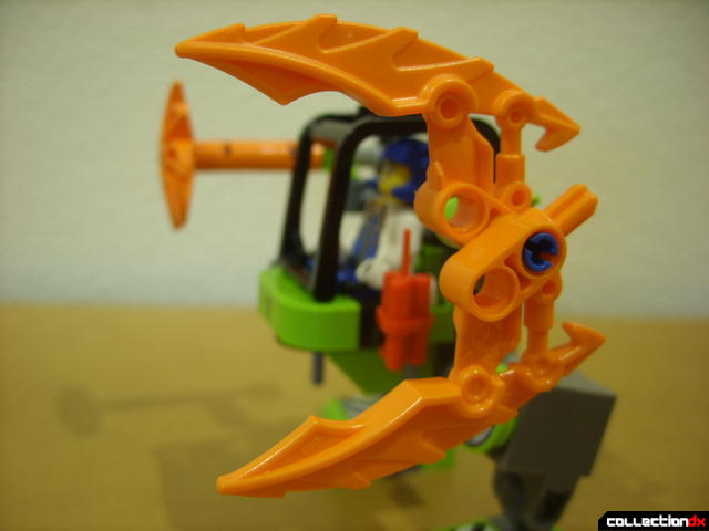 Mine Mech (left claw, opened)