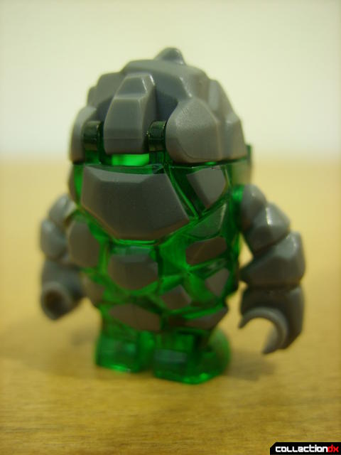 Mine Mech- rock monster minifig (back)