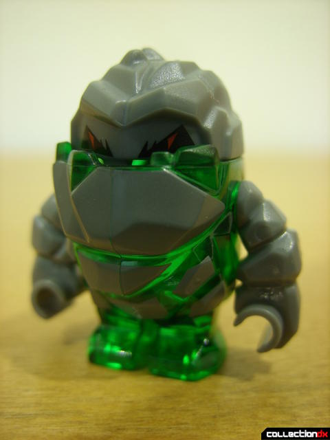 Mine Mech- rock monster minifig (front)