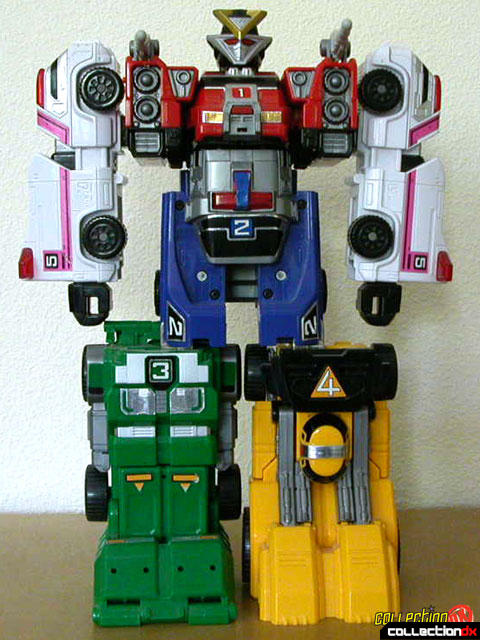 Deluxe Double Morphing Rescue Megazord