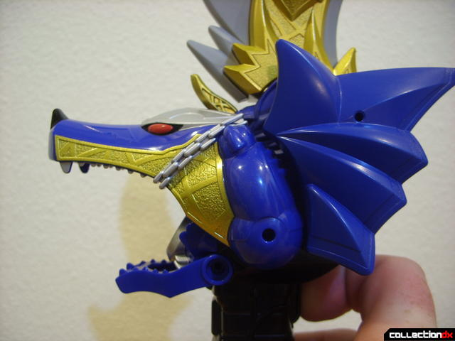 Majuuken Garulu Saber- sword mode (mouth opened)
