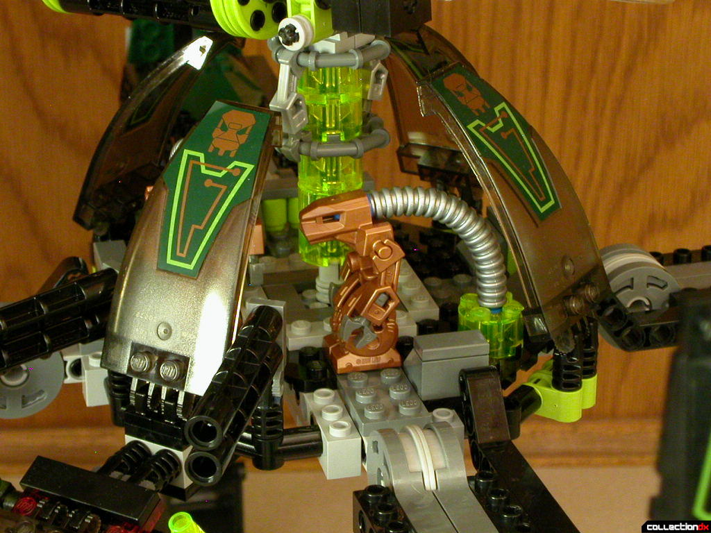 Striking Venom - center body detail (closed)