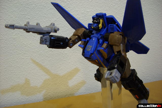Autobot Tread Bolt without armor- robot mode posed (2)