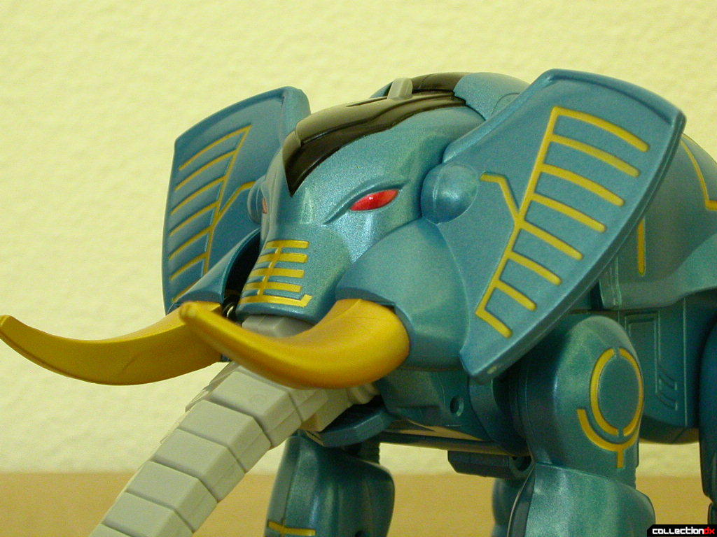 Power Animal Gao Elephant - tusks and ears detail (up)