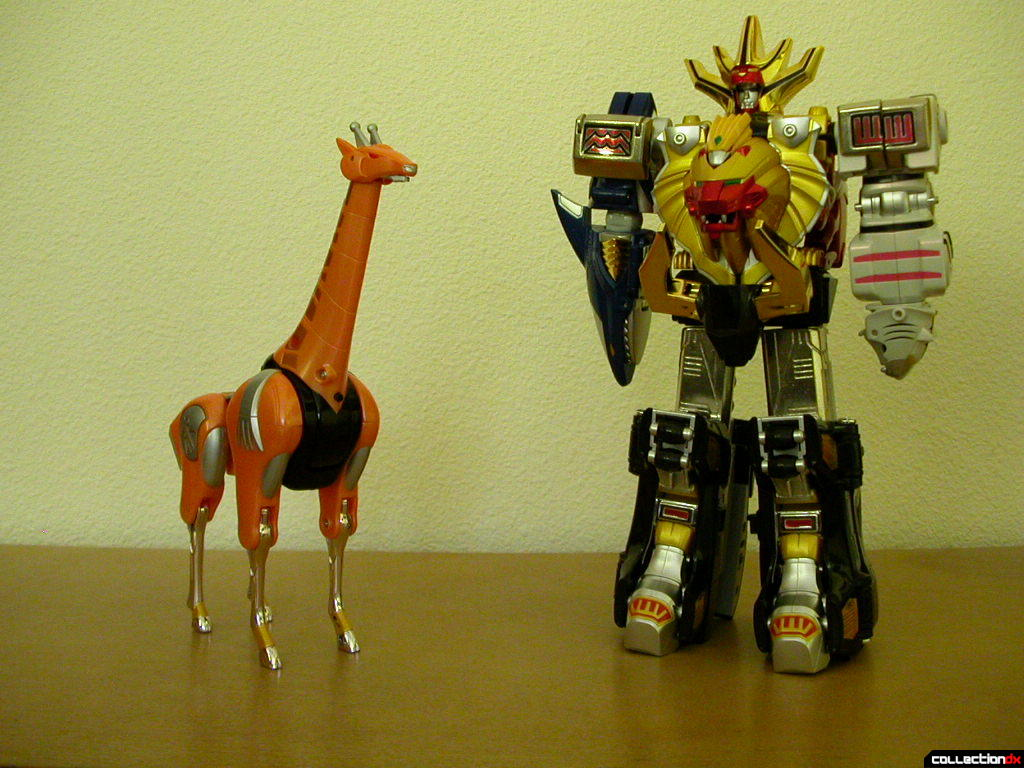 PA-2 Gao Giraffe with DX Hyakujuu Gattai Gao King