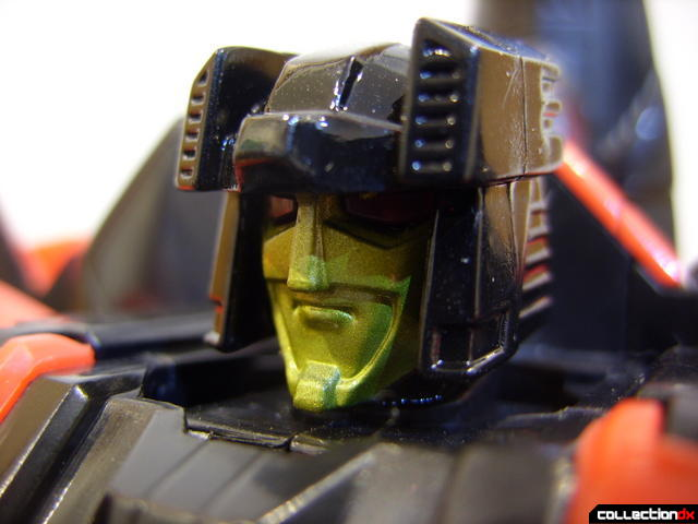 Decepticon Skyfall- robot mode (head detail)