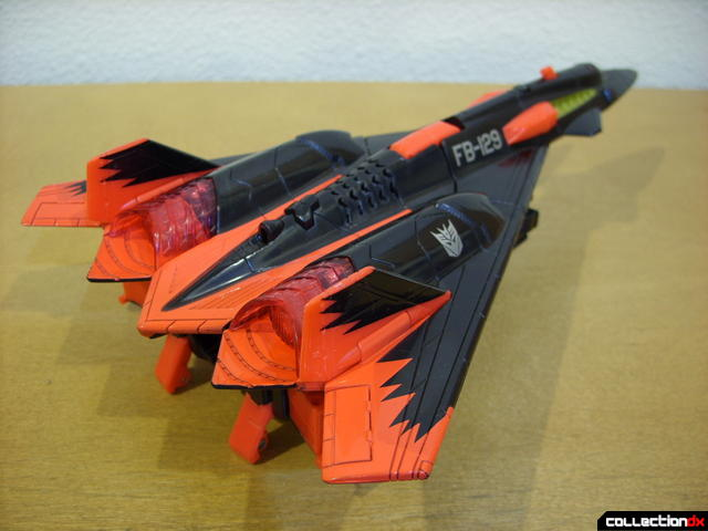 Decepticon Skyfall- vehicle mode (back)