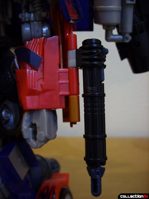 RotF Power-Up Optimus Prime (missile launcher detail on left forearm)