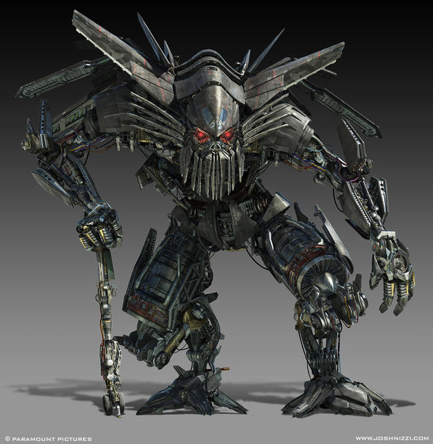 CGI image of Autobot Jetfire from 'Transformers- Revenge of the Fallen' (2009)
