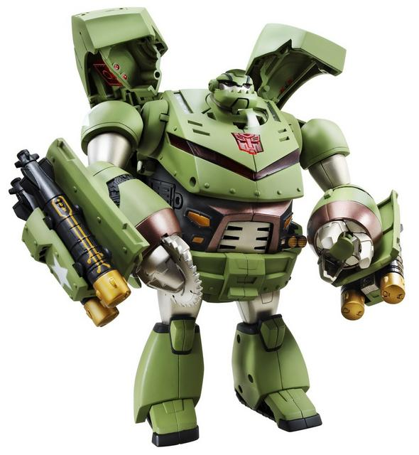 Animated Leader-class Autobot Bulkhead (official photo, robot mode)