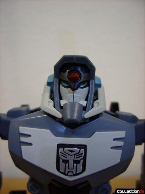 Animated Voyager-class Decepticon Shockwave (Autobot head and logo)