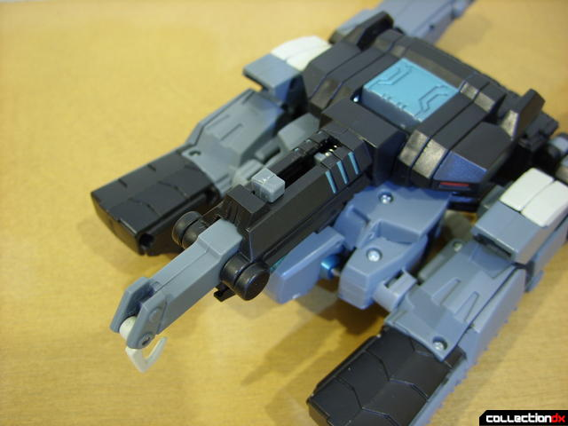 Animated Voyager-class Decepticon Shockwave (turret changes 1-2)