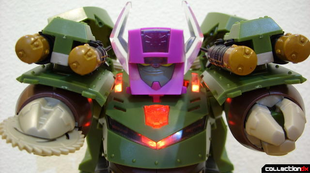 Animated Leader-class Autobot Bulkhead- Headmaster unit (posed)
