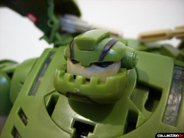 Animated Leader-class Autobot Bulkhead- robot mode (head not turned)