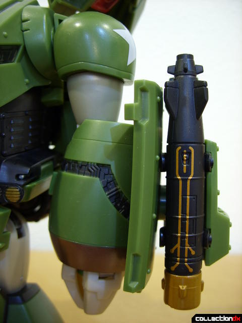 Animated Leader-class Autobot Bulkhead- robot mode (left arm)