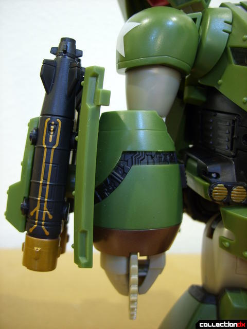 Animated Leader-class Autobot Bulkhead- robot mode (right arm)
