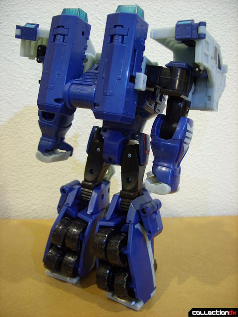 Animated Leader-class Autobot Ultra Magnus- robot mode (back)