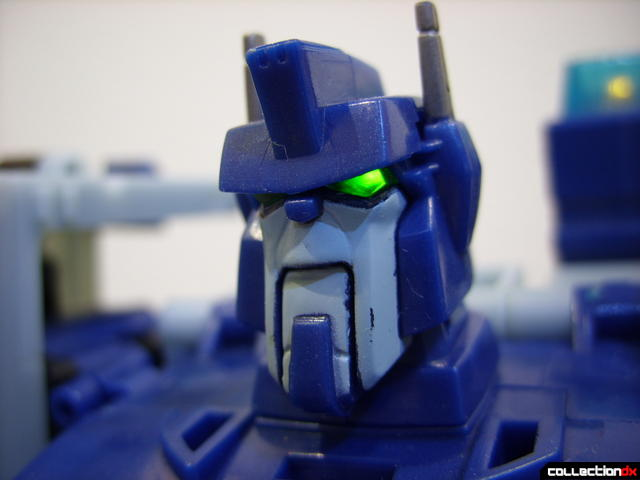 Animated Leader-class Autobot Ultra Magnus- robot mode (eyes lit)