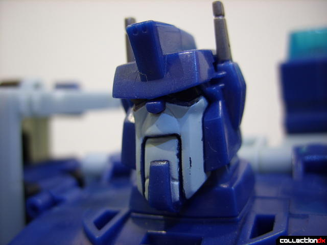 Animated Leader-class Autobot Ultra Magnus- robot mode (head)