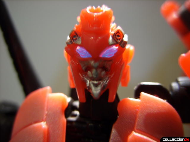 RotF Deluxe-class Autobot Arcee- robot mode (lookin at ya, eyes lit from behind)