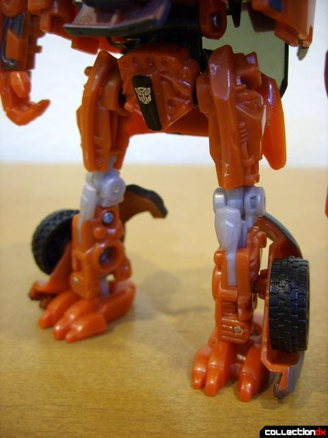 RotF Deluxe-class Autobot Mudflap- robot mode (legs)