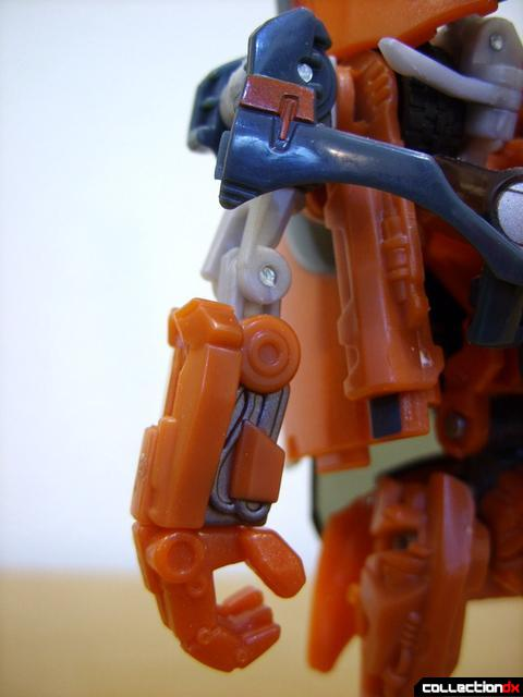 RotF Deluxe-class Autobot Mudflap- robot mode (right arm)