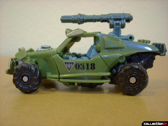 RotF Scout-class Autobot Dune Runner- vehicle mode (left profile)