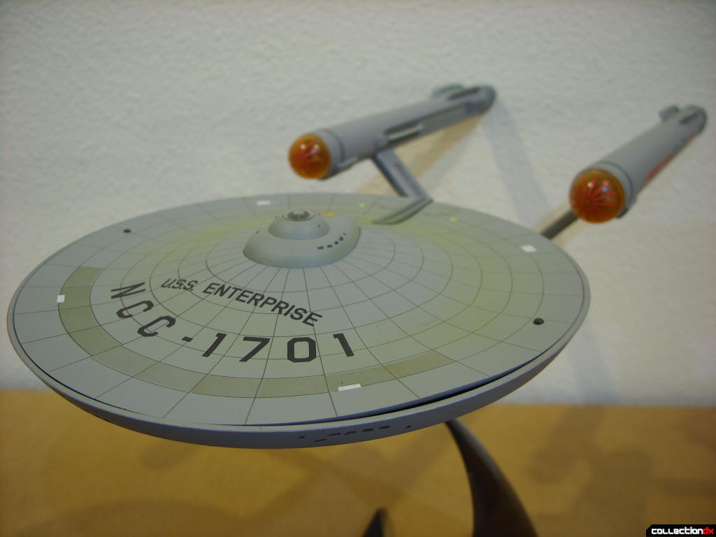 Starship Legends U.S.S. Enterprise HD ver. (forward-dorsal view)