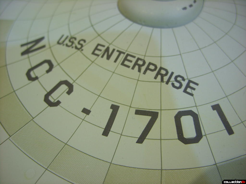 Starship Legends U.S.S. Enterprise HD ver. (name and registery number)