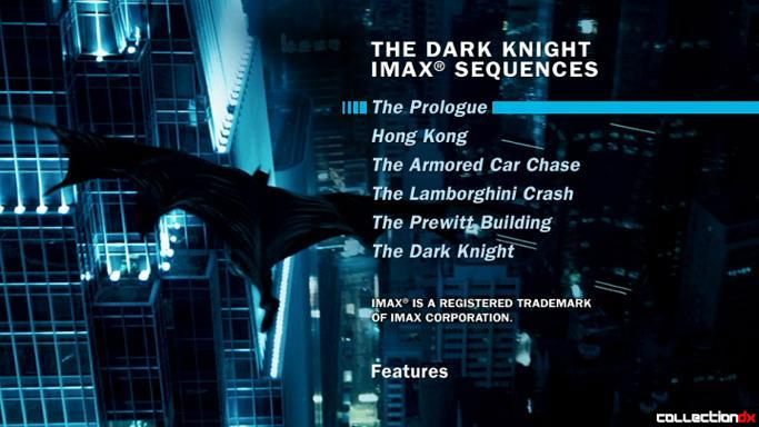 The Dark Knight IMAX Sequences