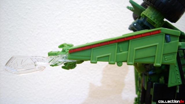 RotF Voyager-class Decepticon Long Haul- robot mode (sword extended)