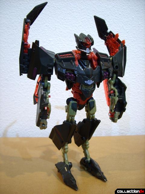 RotF Voyager-class Mindwipe- robot mode (front)