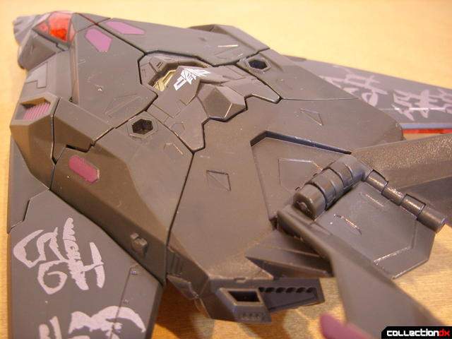 RotF Voyager-class Mindwipe- vehicle mode (top detail, back)